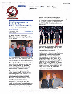 Roller Hockey Article - Page 1
