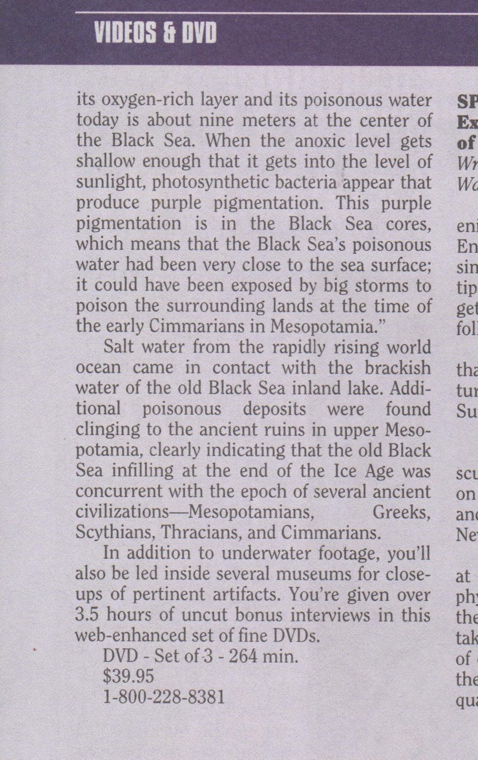 Atlantis Rising - Black Sea - Page 3