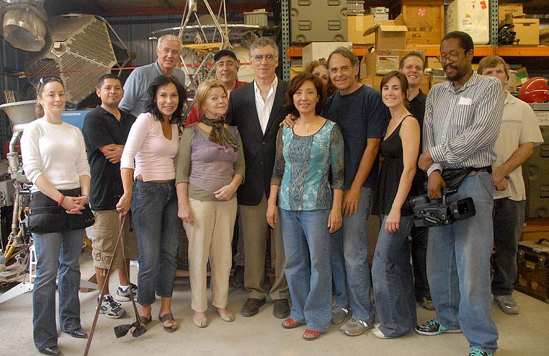 Elliott Gould & Elliott's production team