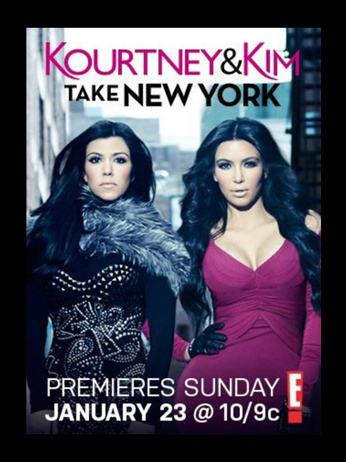 Kim & Kourtney Take New York