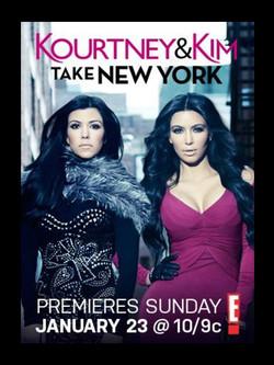 Kim & Kourtney Take New York