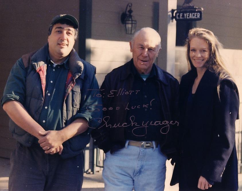 Elliott & Chuck Yeager