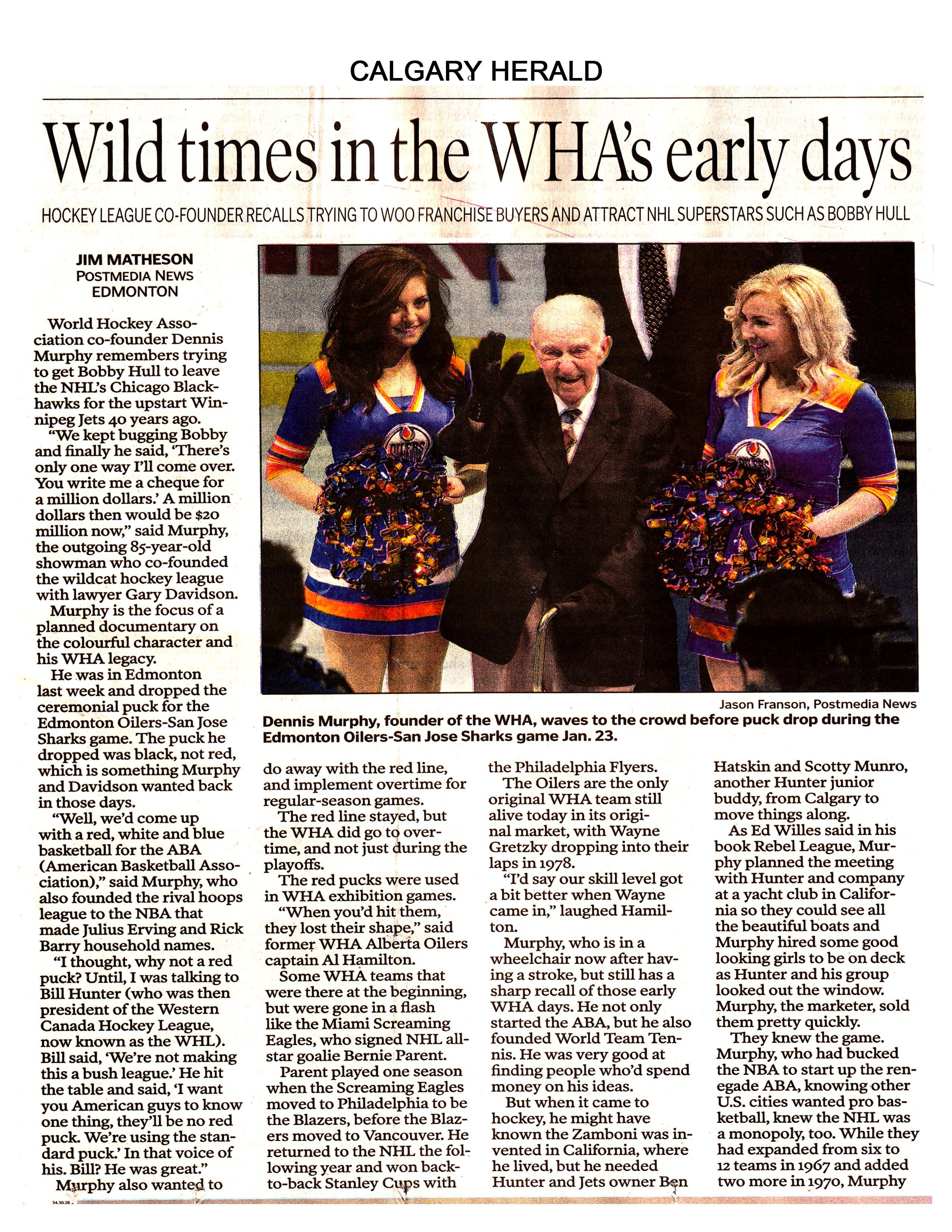 Calgary Herald - Dennis - Page 1