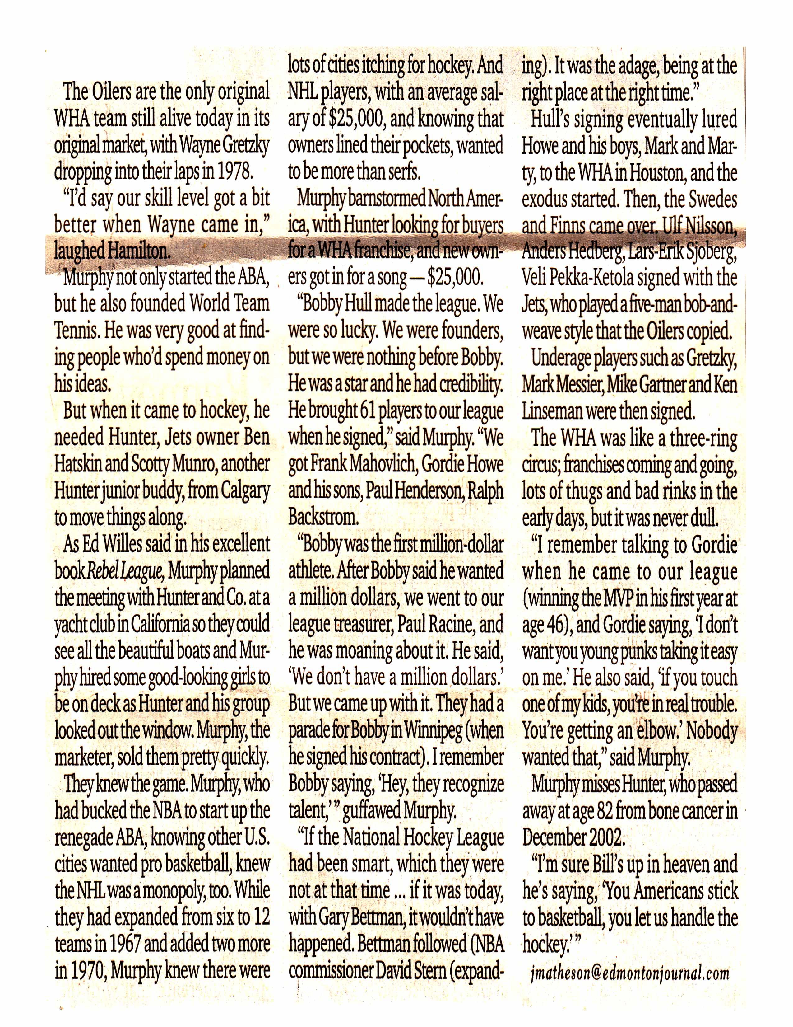 Edmonton Journal article - Page 2
