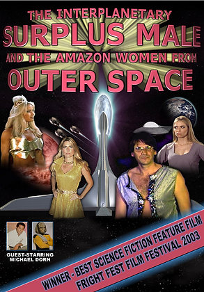 """THE INTERPLANETARY SURPLUS MALE & THE AMAZON..."