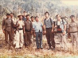 Elliott & group in Thailand 1979