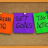 Vision Board Image Dream Big Set Goals T