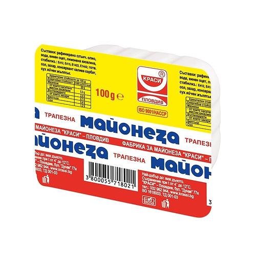 ТРАПЕЗНА МАЙОНЕЗА 100 ГР. КРАСИ