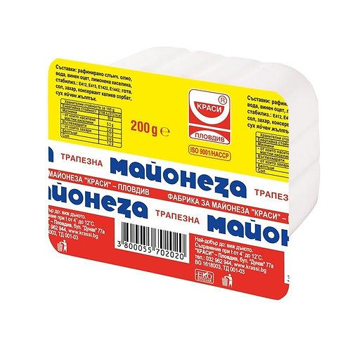 МАЙОНЕЗА КРАСИ 200ГР.