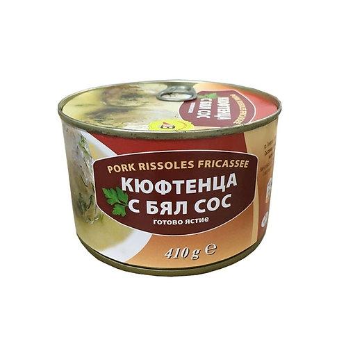 КЮФТЕТА С БЯЛ СОС ГЕНЕРАЛ ТОШЕВО 410ГР.
