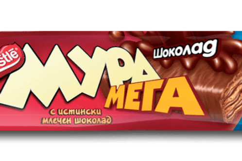 ВАФЛА МУРА МЕГА ШОКОЛАД