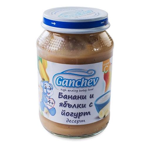 ДЕСЕРТ БАНАН И ЯБЪЛКИ С ЙОГУРТ ГАНЧЕВ