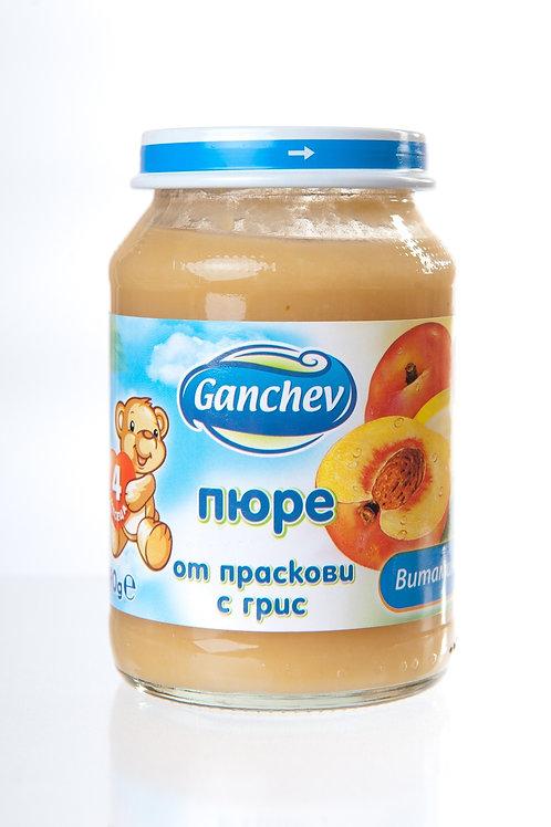 ПЮРЕ ПРАСКОВИ С ГРИС ГАНЧЕВ