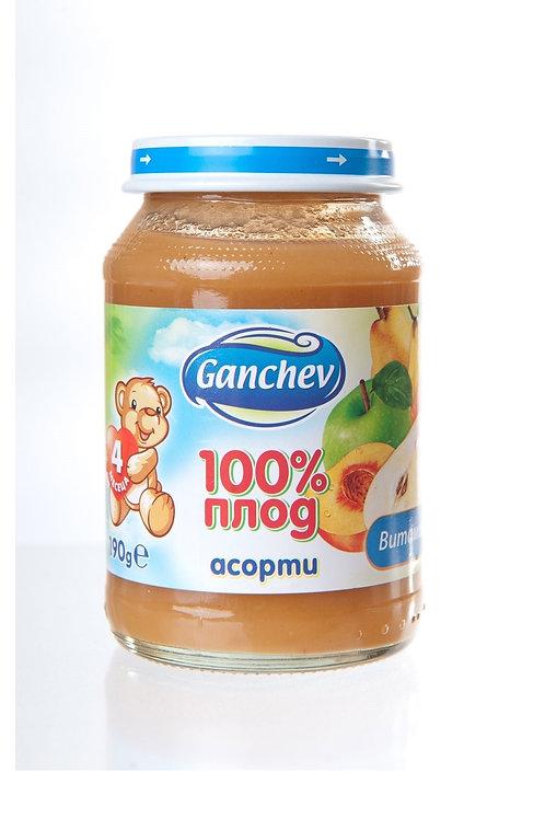 ПЮРЕ АСОРТИ 190 ГР. ГАНЧЕВ