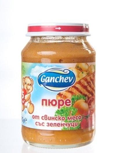 ПЮРЕ ОТ СВИНСКО МЕСО И ЗЕЛЕНЧУЦИ ГАНЧЕВ