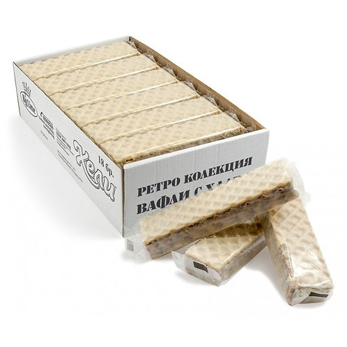 ВАФЛИ ХЕЛИ РЕТРО БЕЛИ 70ГР. цена за брой