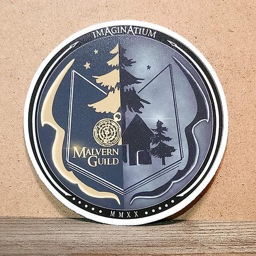 """Light & Night"" Malvern Guild Sticker"