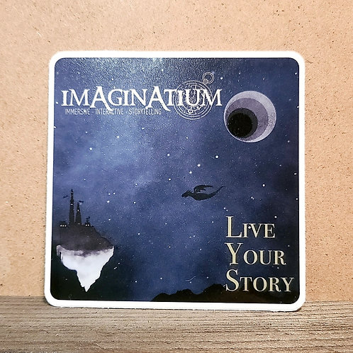 """Night Castle"" Sticker"