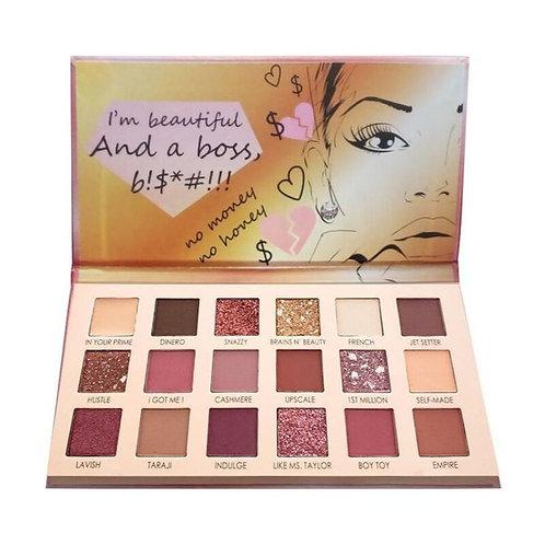 Italia Deluxe: Boss B!$*#!!! Eyeshadow Palette