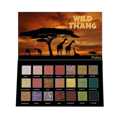 Prolux: Wild Thang Eyeshadow Palette
