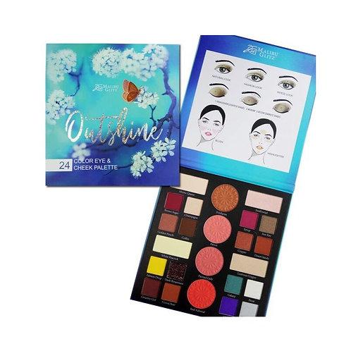 Malibu Glitz: Outshine Eyeshadow & Cheek Palette