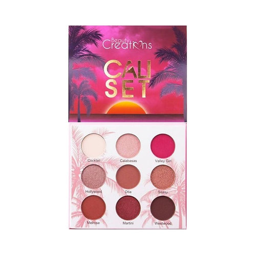 Beauty Creations: Cali Set Eyeshadow Palette
