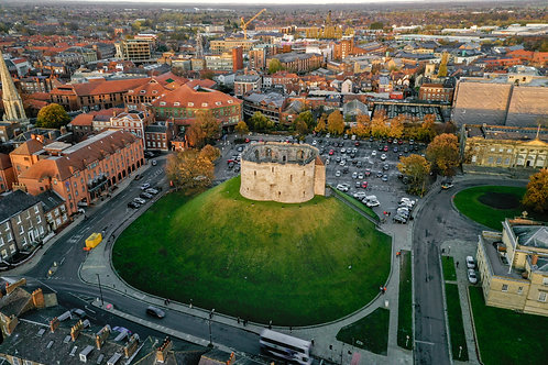 Aerial - Clifford's Tower