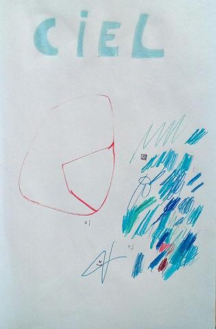 Crayons de couleurs 27,8 cm   X 42 cm (3