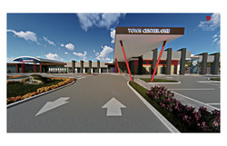 20 TC1 - West Entry Drive Perspective 01 at 480 dpi