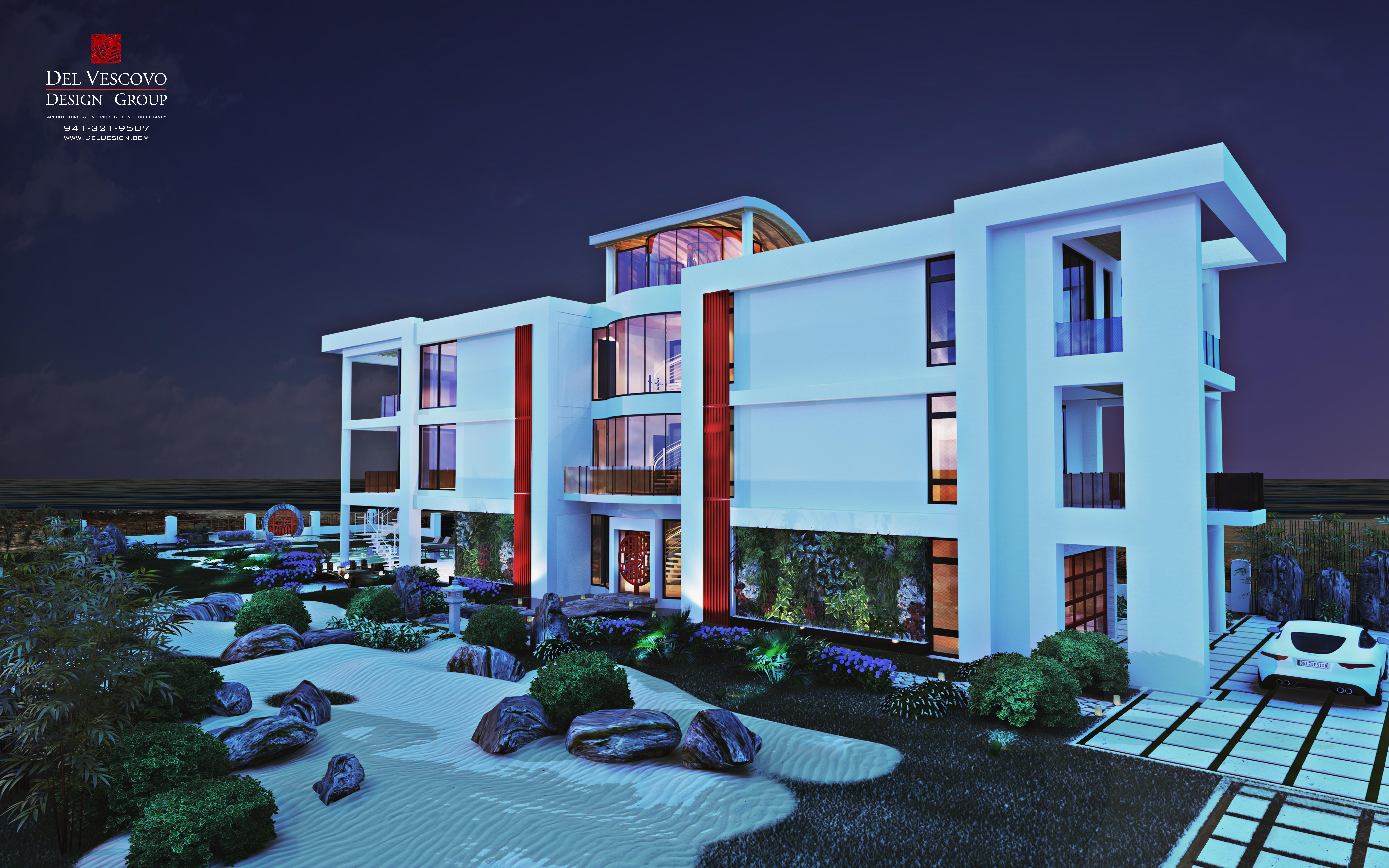 Lido Beach House Modern Evening