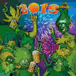 Happy New Year, From Cannijuana Friends!