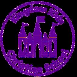Kingdom Kids thick border purple 630099.
