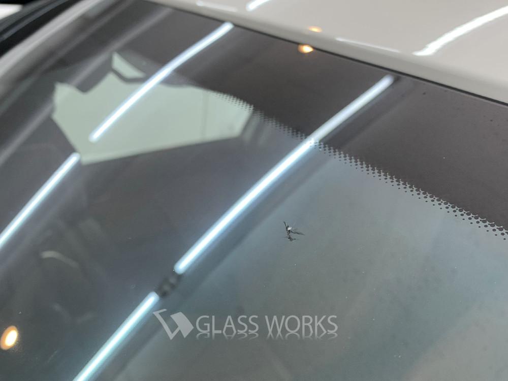 【飛び石被害】ビーウイングブレイクのフロントガラス修理3