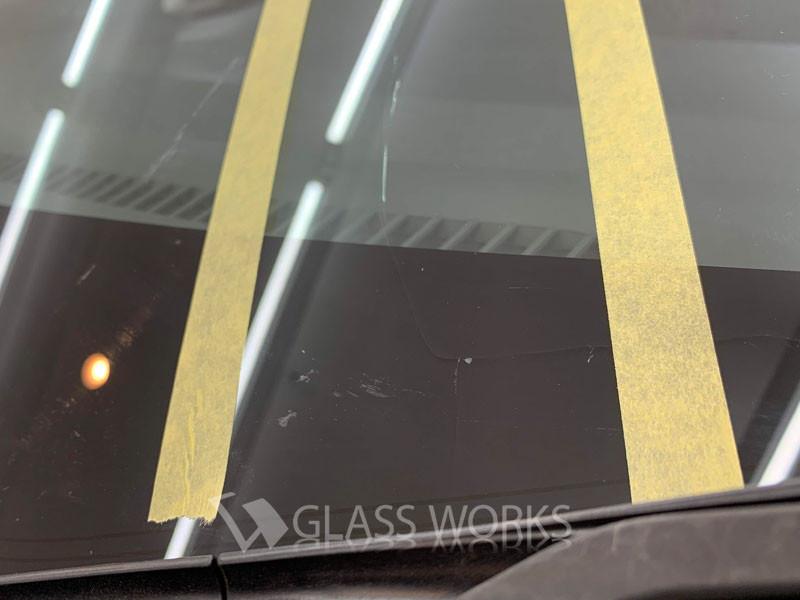 ホンダフリードフロントガラス交換2