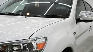 三菱 RVR ライト研磨+Gloss Shieldコーティング施工