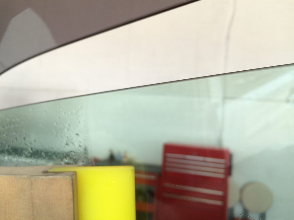 ドアガラス貼り込み例