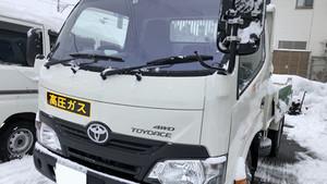 お仕事車に熱反射ガラスコートテクトを。