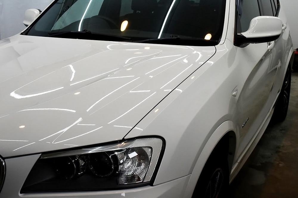 BMW X3 コーティング施工後