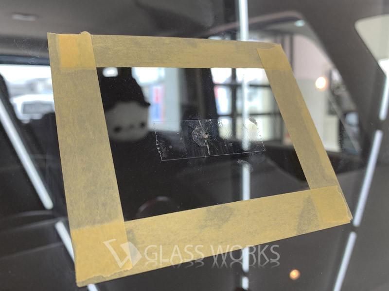 MK53Sスペーシア、フロントガラス交換2