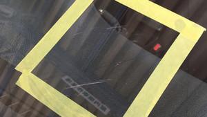フロントガラスの擦り傷も修理可能です。《ウインドスクラッチ》