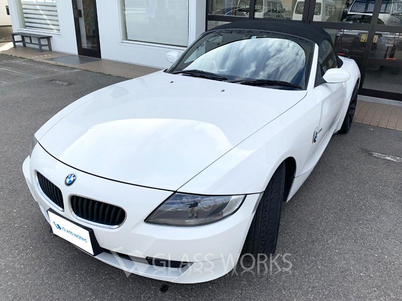 モールやヘッドライト、傷んでいませんか?(BMW Z4)6