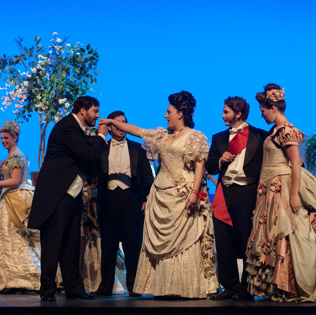 Violetta in La traviata