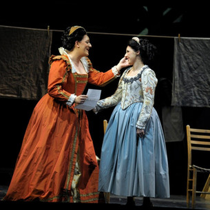 Alice Ford in Falstaff, with Katherine Polit