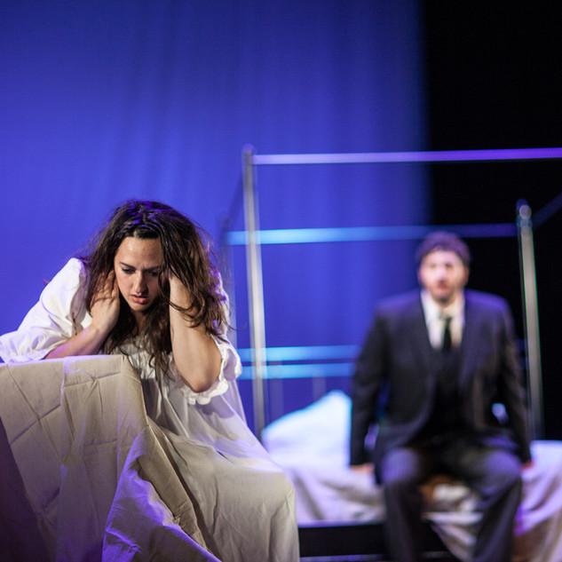 As Violetta in La traviata