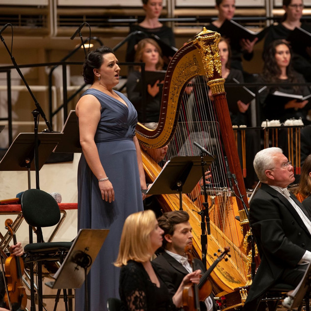 The High Priestess in Aïda with Chicago Symphony Orchestra
