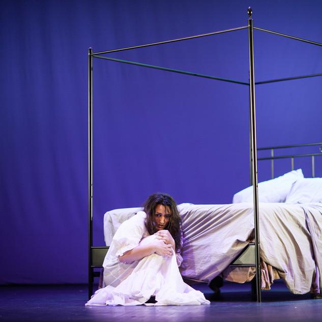 Violetta in La traviataa