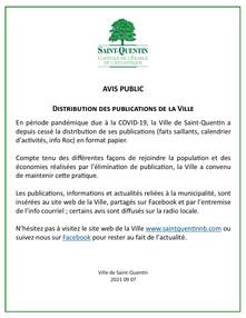 Publications de la Ville