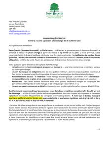 Covid-19 : la zone 4 passe en phase orange dès le 19 février 2021
