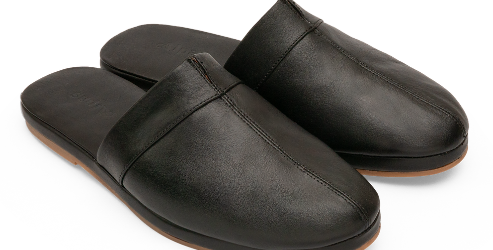 Split Toe Mule - Black (Men's)