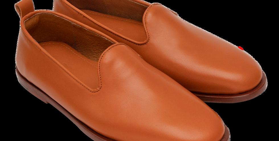Plain Toe Slip On - Tan (Men's)